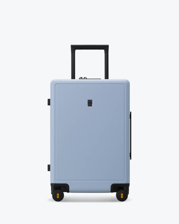 carry on suitcase skyblue