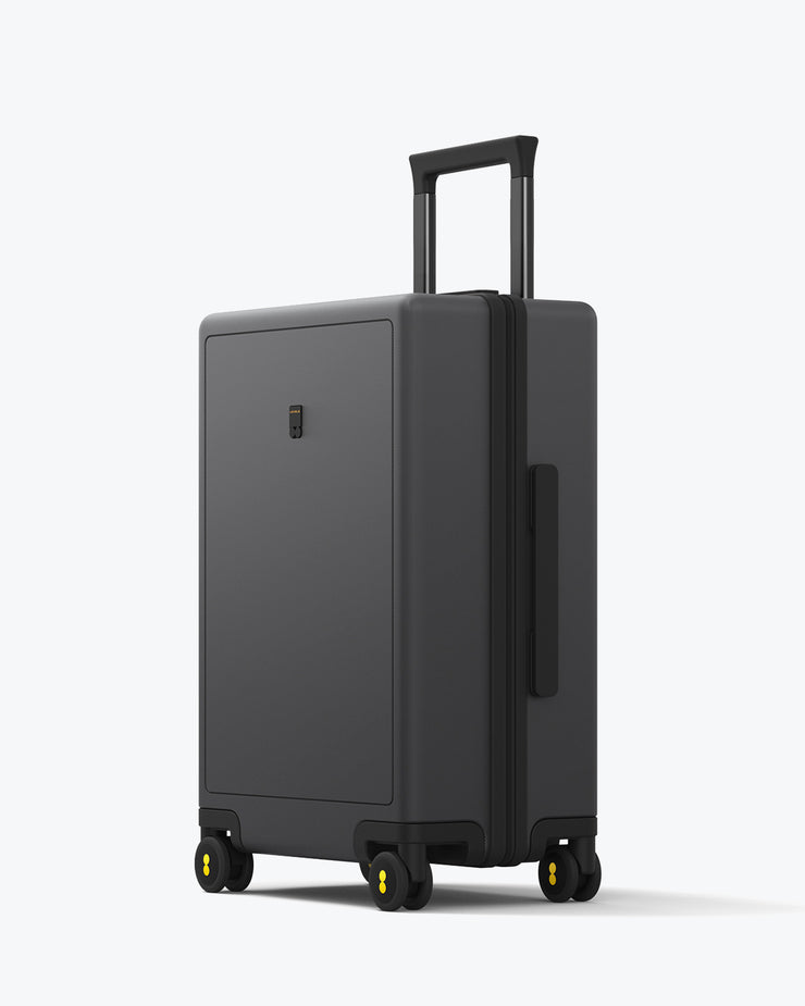 LEVEL8 Elegance Textured Check In Luggage 24""
