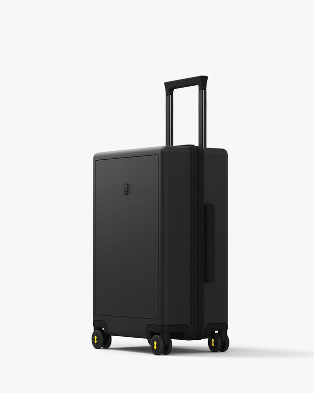 black carry on suitcase