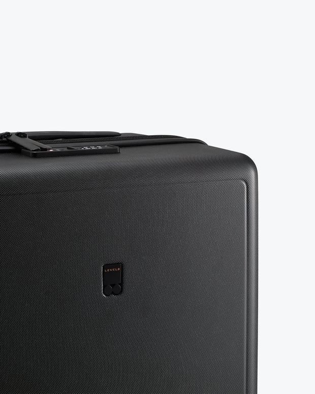 black durable carry on luggae
