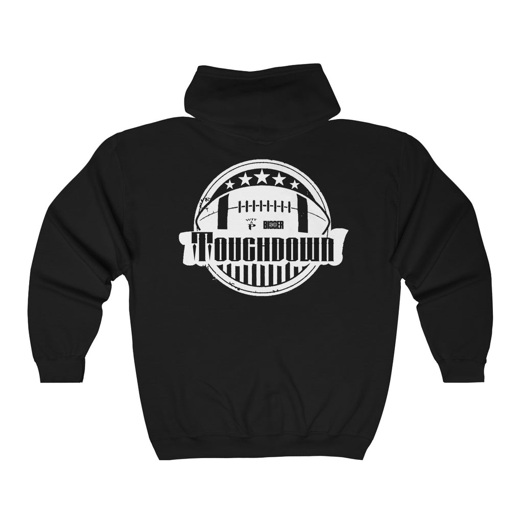 Touchdown Unisex Heavy Blend™ Full Zip Hooded Sweatshirt