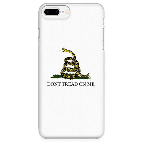 merchant of liberty, unique libertarian t-shirts, libertarian apparel, dont tread on me phone case