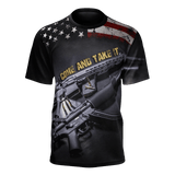 Come And Take It T-Shirt, merchant of liberty, libertarian shirts, libertarian apparel, second amendment shirts