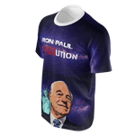 Ron Paul Revolution Galaxy T-Shirt