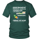 Merchant Of Liberty, libertarian shirts, libertarian apparel, government should be funded by gofundme, libertarian merchandise.