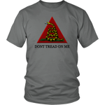 'Don't Tread On Me' T-Shirt, libertarian t-shirt, merchant of liberty, liberty gear, conservative t-shirts, gadsden flag, Dont Tread On Me Shirt