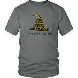 'Don't Tread On Me' T-Shirt, libertarian t-shirt, merchant of liberty, liberty gear, conservative t-shirts, Dont Tread On Me Shirt