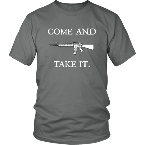 'Come And Take It' T-Shirt, libertarian shirts, merchant of liberty, conservative shirts, liberty apparel, liberty gear