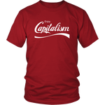 Enjoy Capitalism T-Shirt | Merchant Of Liberty, libertarian t-shirt, liberty apparel