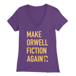 'Make Orwell Fiction Again' T-Shirt, merchant of liberty, libertarian shirts, libertarian apparel, george orwell