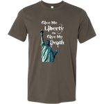 Give Me Liberty Or Give Me Death - T-Shirt, libertarian shirt, liberty apparel, merchant of liberty