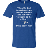 Same Weapons As The Military - Men's Tee