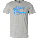 'Life, Liberty & Property' T-Shirt, merchant of liberty, libertarian t-shirts, conservative shirts, liberty gear, Neon