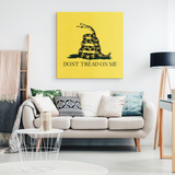 Don't Tread On Me Canvas Wrap