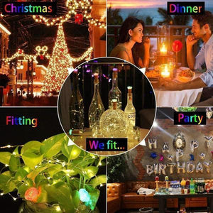 Holiday Special price!!! -Creative BOTTLE LIGHTS for Christmas