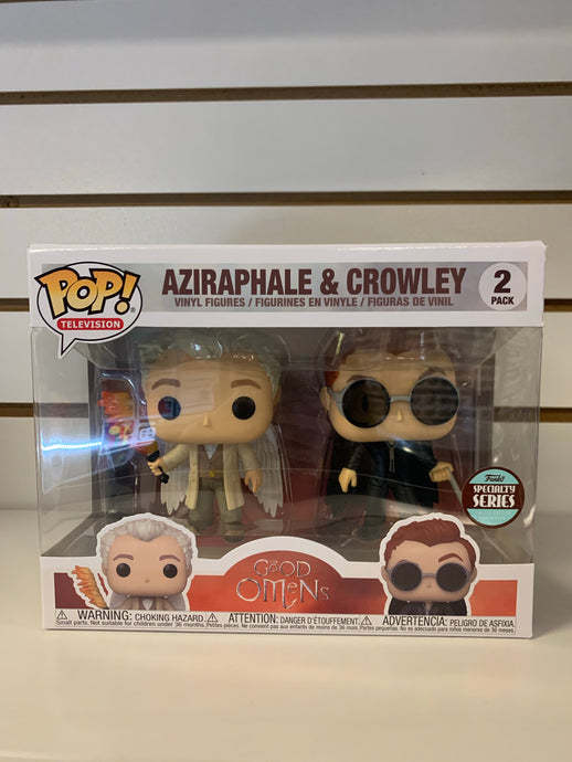 Funko Pop Aziraphale & Crowley