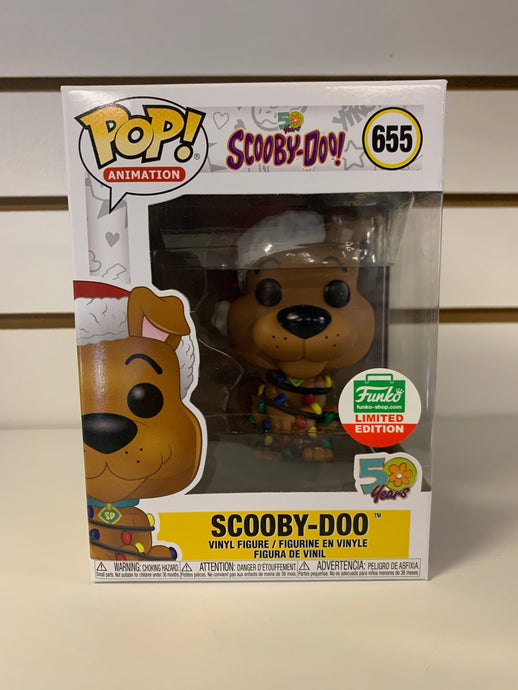 Funko Pop Scooby-Doo Christmas Lights