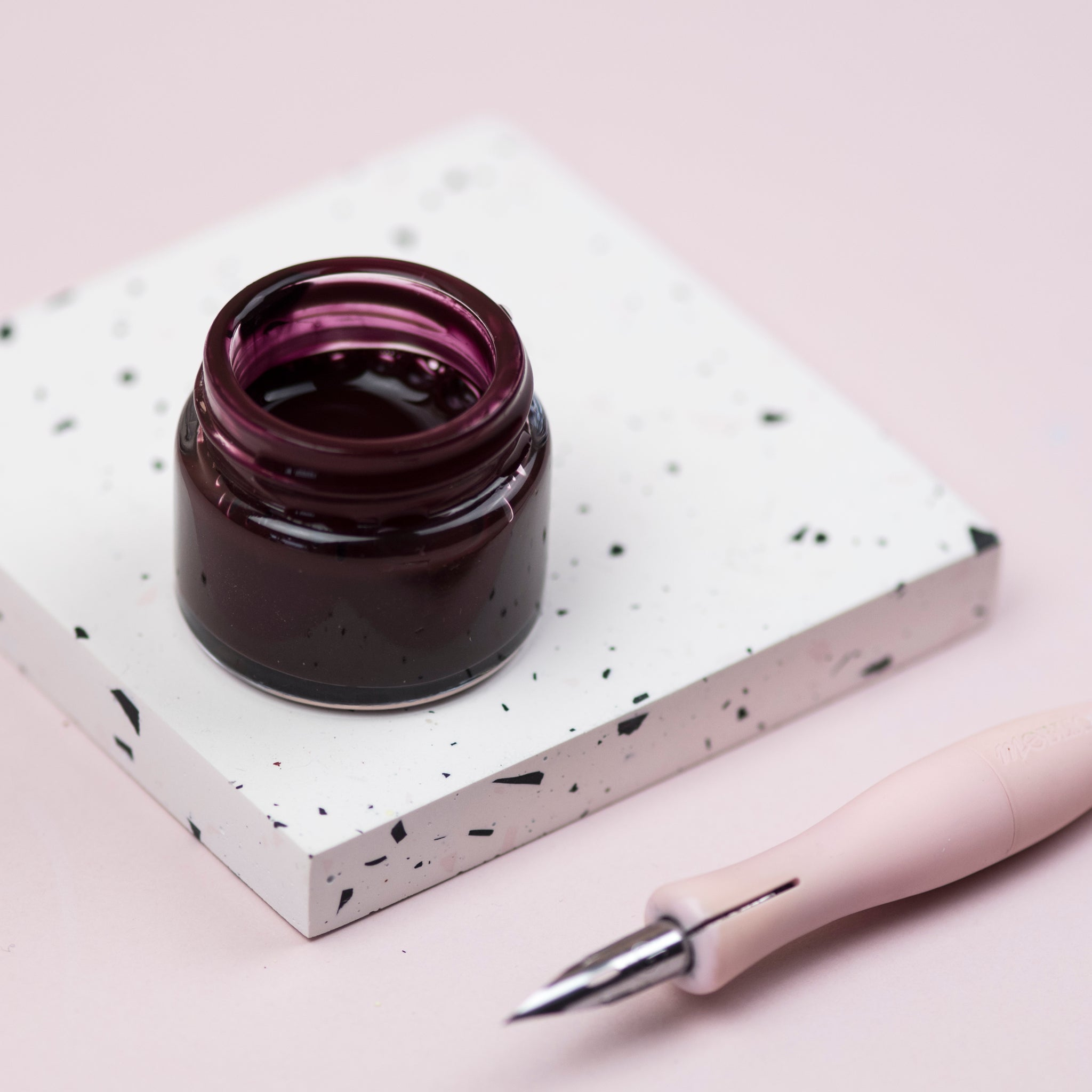 Burgundy Calligraphy Ink
