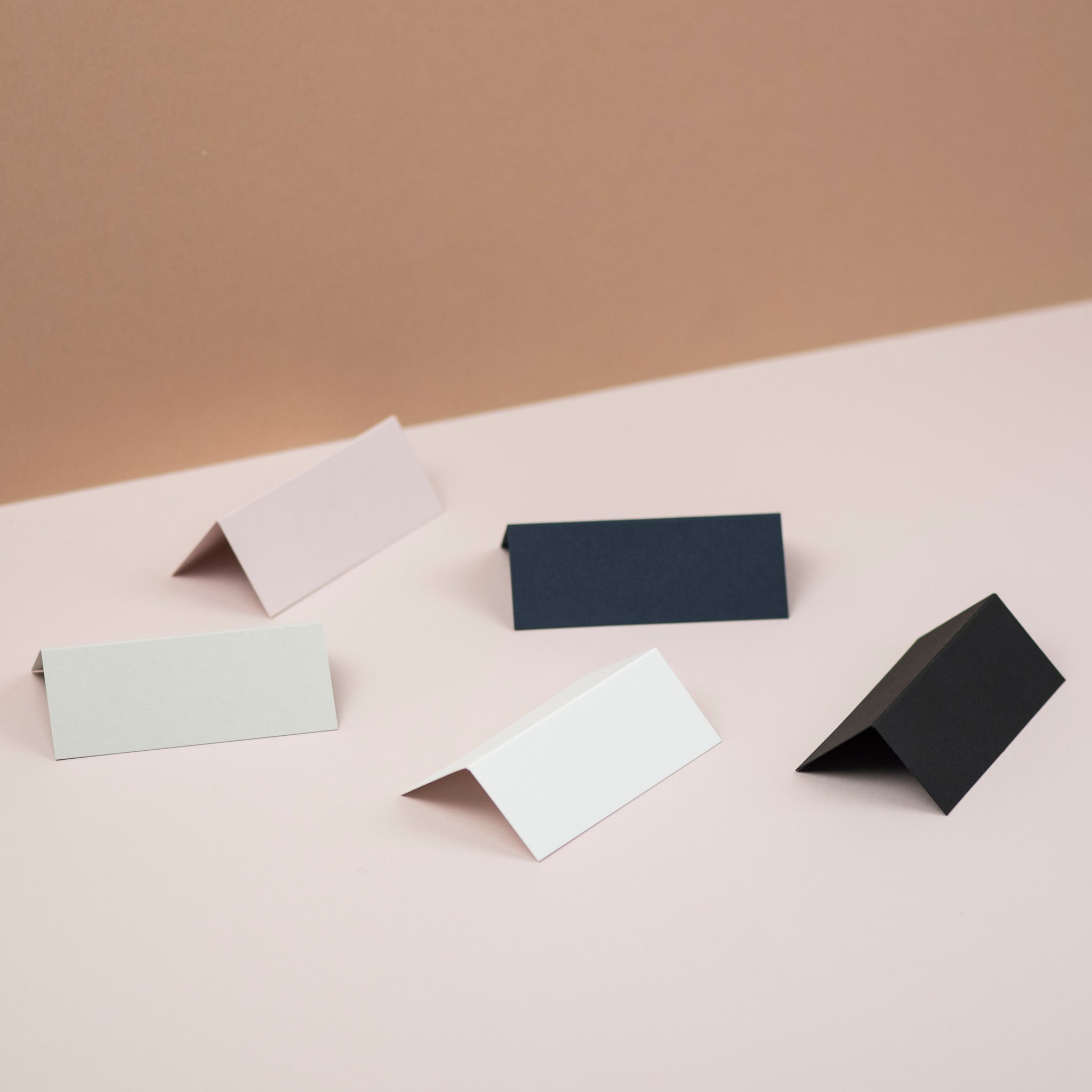 Luxury black place cards
