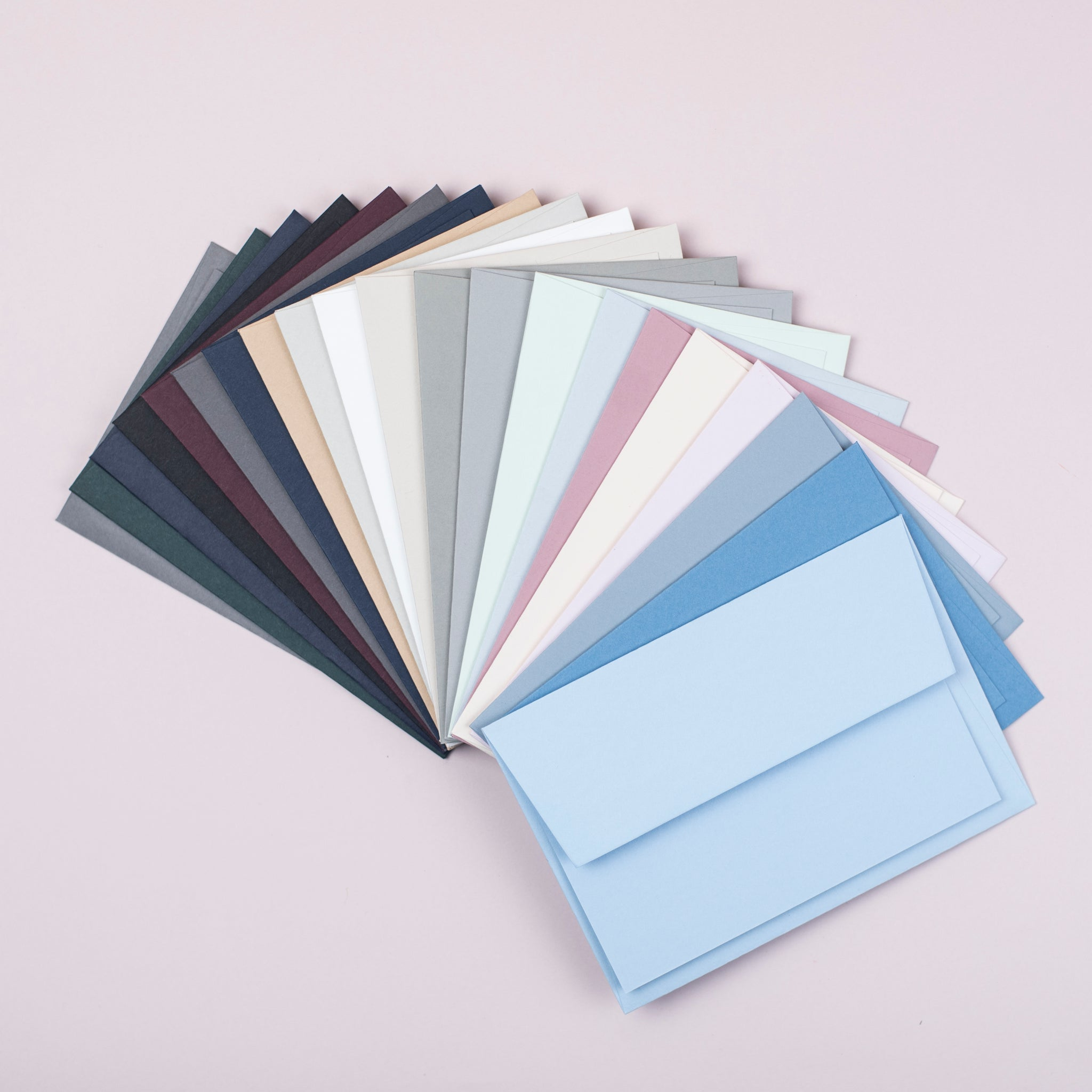 Luxury pale grey notecards and envelopes