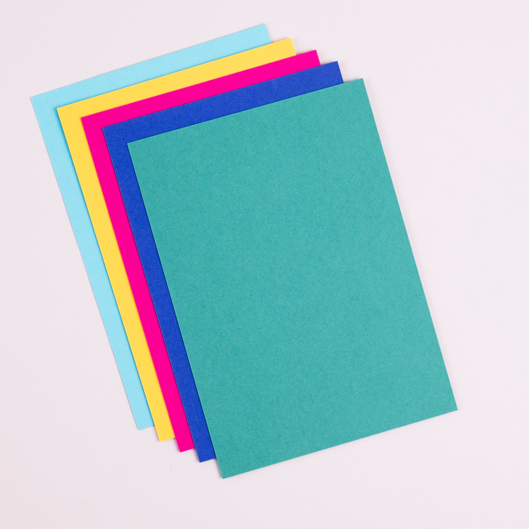 Bright set of notecards and envelopes