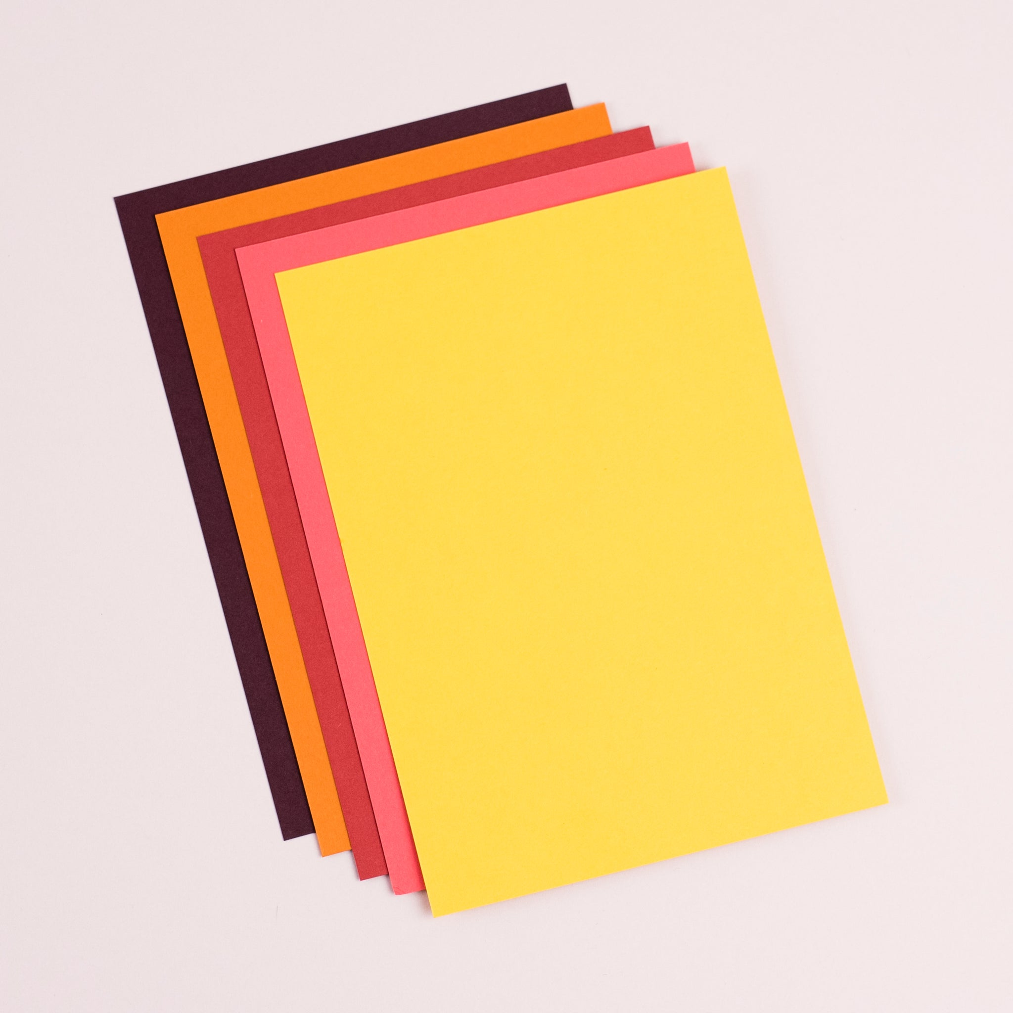 Warm set of notecards and envelopes