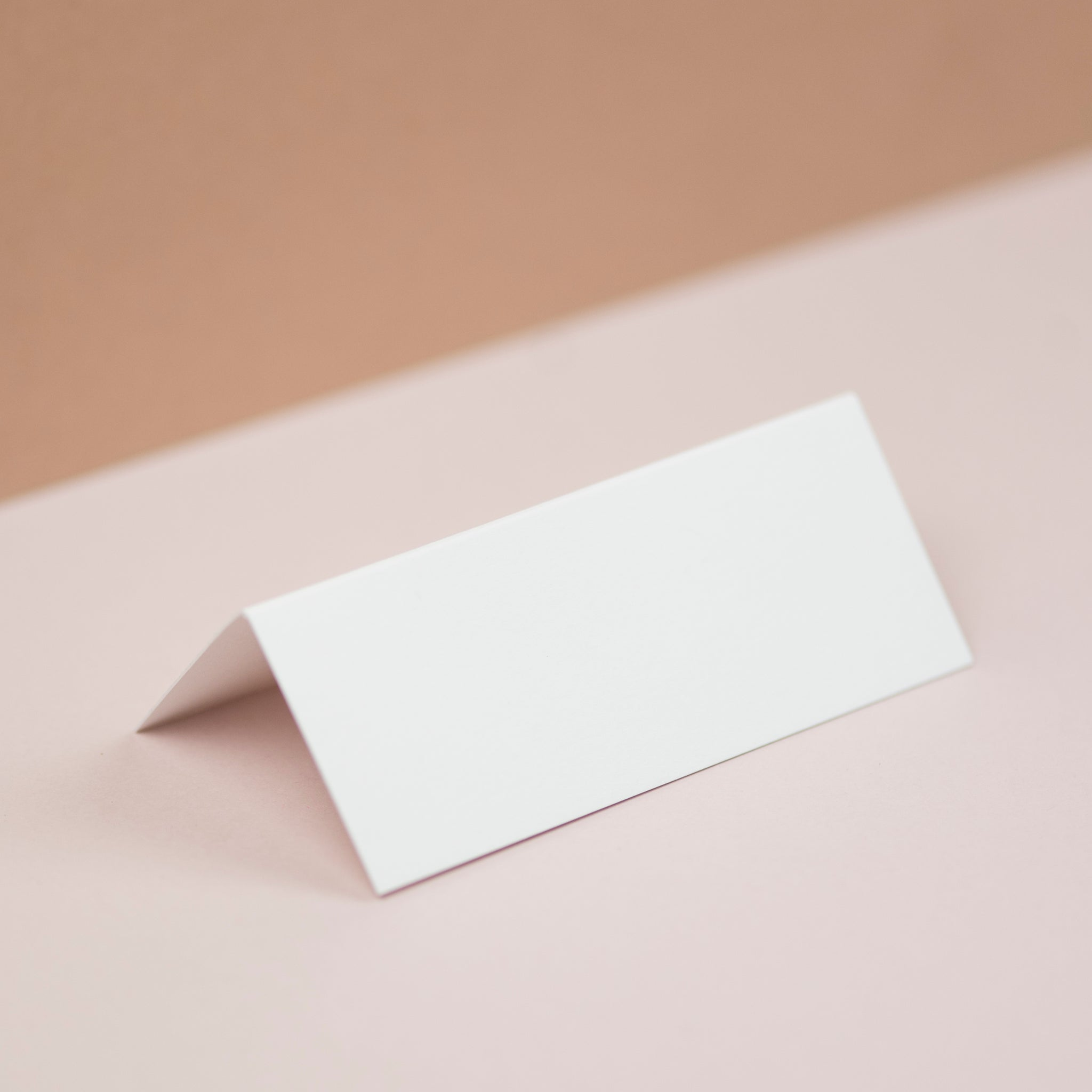 Luxury White place cards
