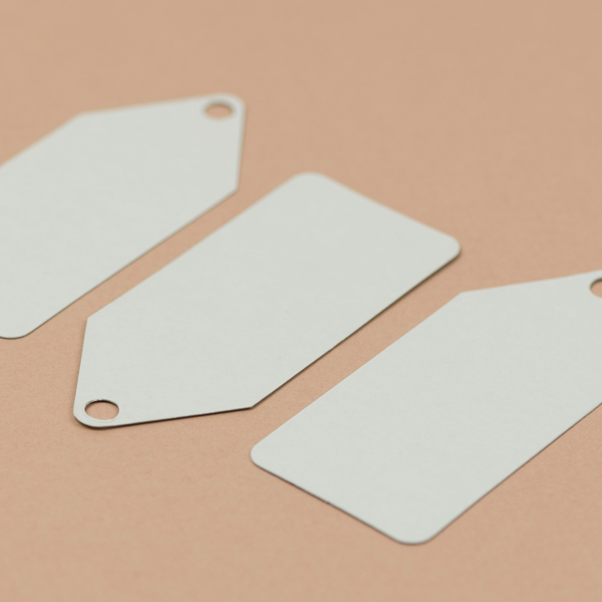 Luxury pale grey gift tags