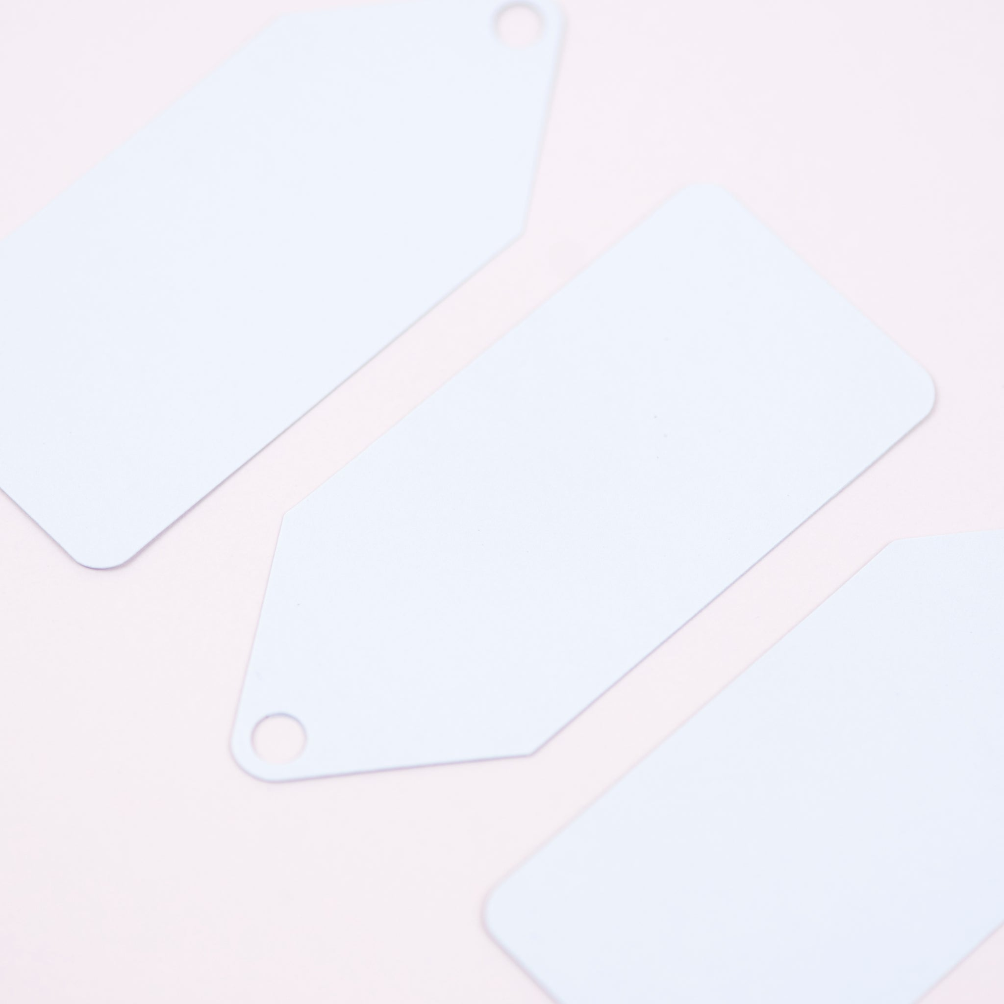 Luxury pale blue gift tags