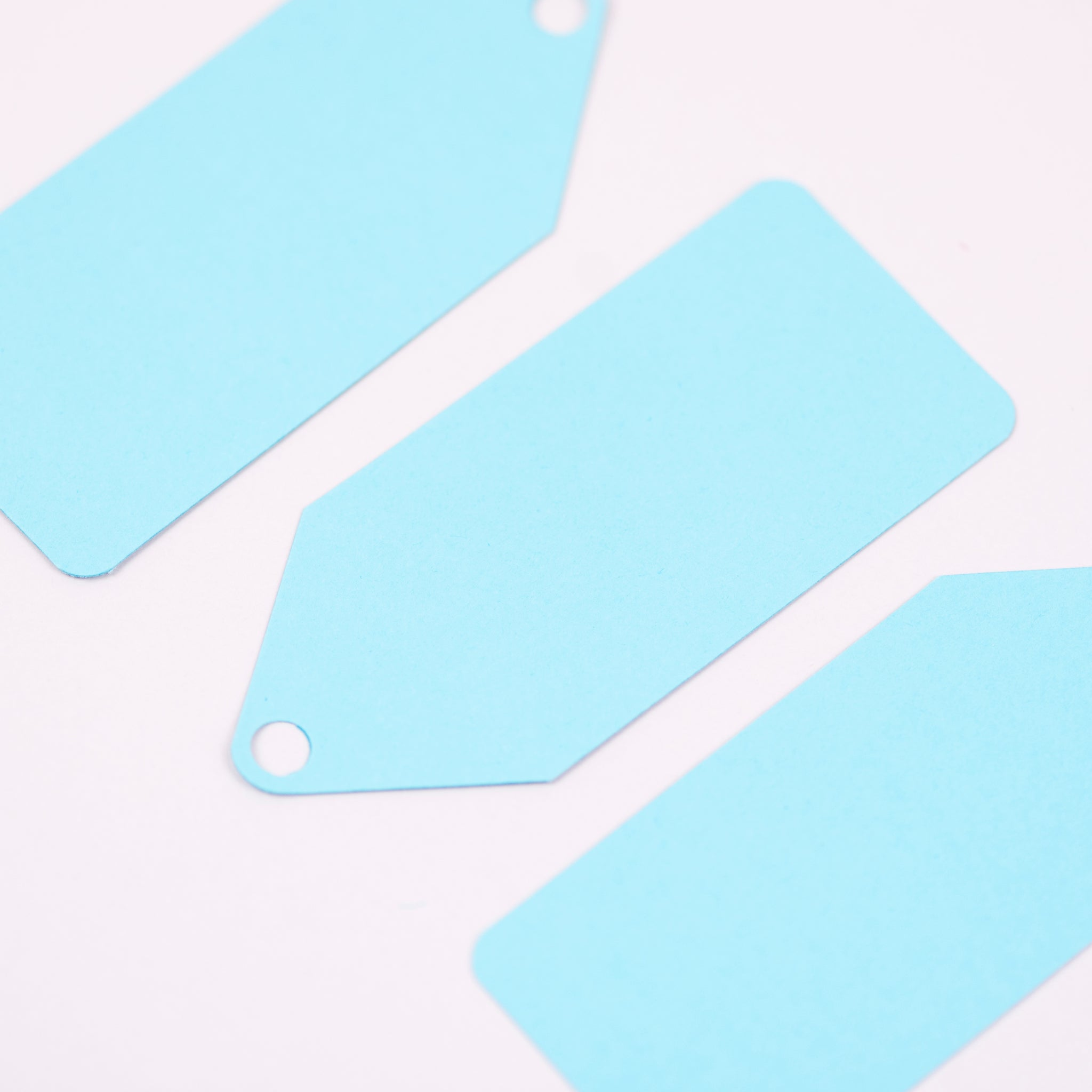 Luxury turquoise gift tags