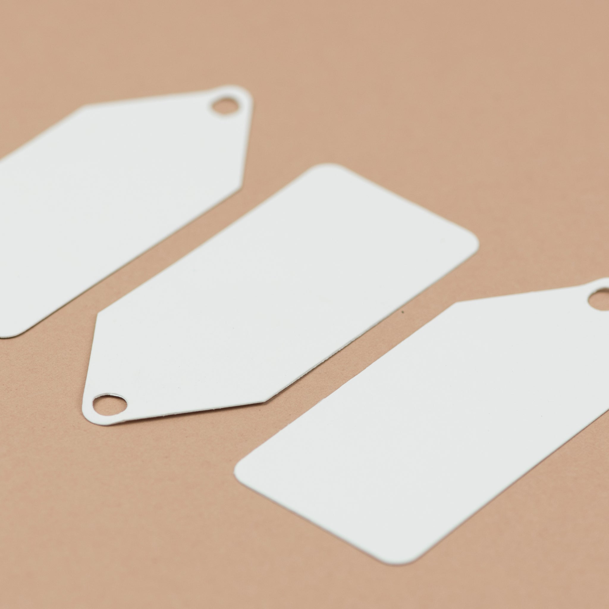 Luxury white gift tags