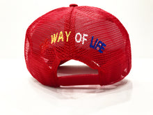 Load image into Gallery viewer, LOGO TRUCKER HAT RED