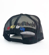 Load image into Gallery viewer, LOGO TRUCKER BLK/WHT