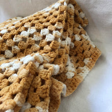 Load image into Gallery viewer, Vintage Crochet Blanket
