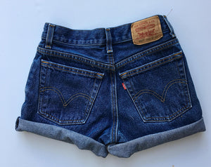 Vintage Levi Cut Off Shorts Size 12