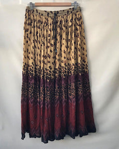 Vintage Multi Color Indian Skirt