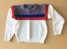 Load image into Gallery viewer, Vintage Color Block Sweater