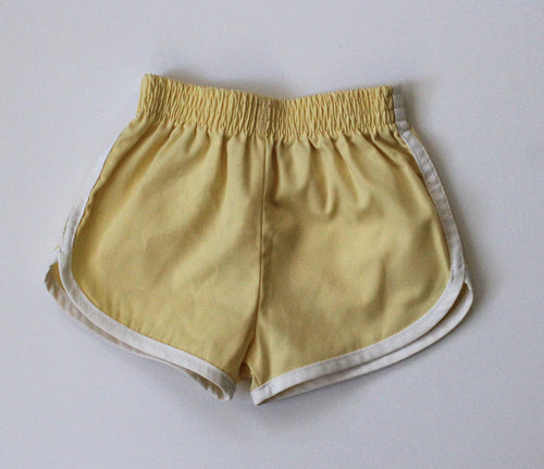 Mellow Yellow Vintage runner shorts 3T