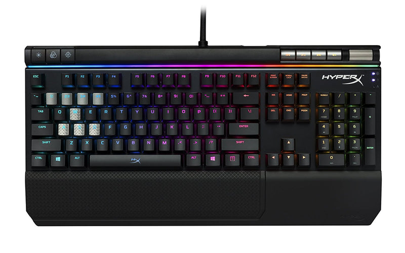 HyperX Alloy Elite RGB mechanical keyboard