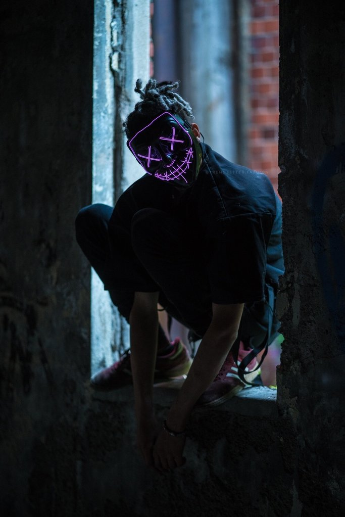 LED Power Mask