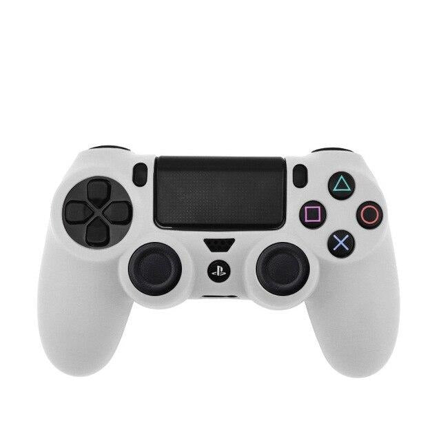 PS4 controller white skin