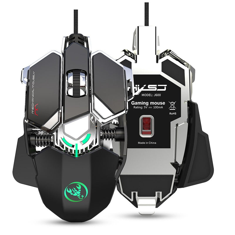 HXSJ J600 wired gaming mouse