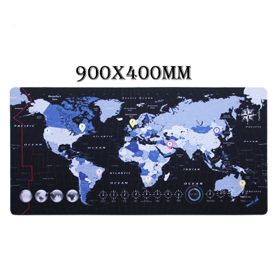 Infographics World Map mousepad