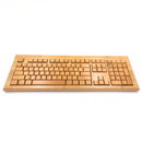 Techchase wireless bamboo keyboard