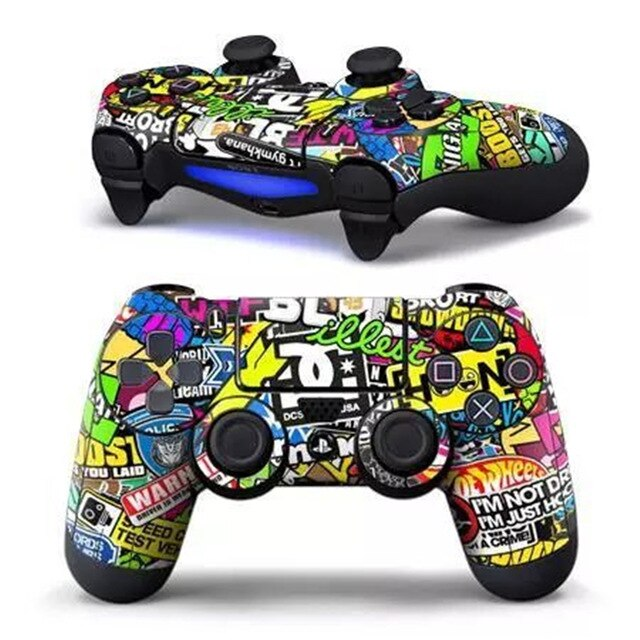 PS4 controller epic sticker skin