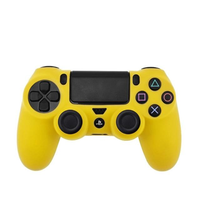 PS4 controller yellow skin