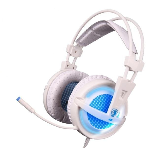 Sades A6 wired gaming headset