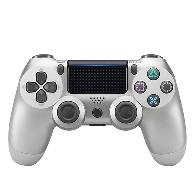 Data Frog wireless PS4 Controller Silver