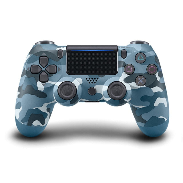 Data Frog wireless PS4 controller blue camo