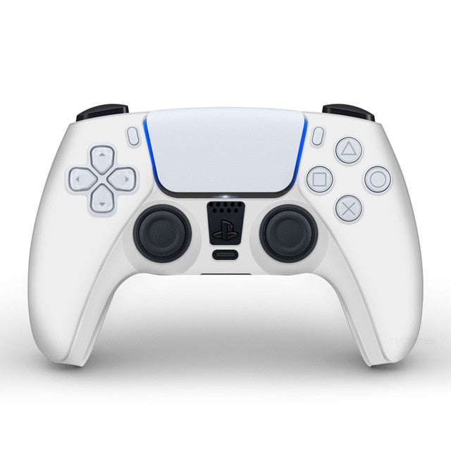 PS5 controller white  skin